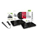 DJ Hero 2 Party Bundle te llevas: 2 mesas, 1 micrófono y el DJ Hero 1 y 2 por 30€