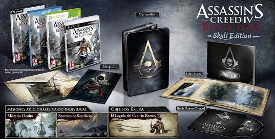 Assassin's Creed 4 Black Flag Edición Coleccionista