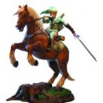 Figura Estatua Legend Of Zelda Link On Epona
