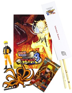 Naruto Storm 3  Ultimate Ninja Kit completo