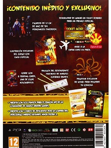Naruto Storm 3  Ultimate Ninja Kit trasera