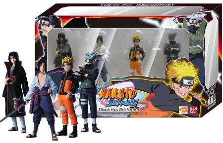 Naruto Ultimate Figurines + Card Pack 2