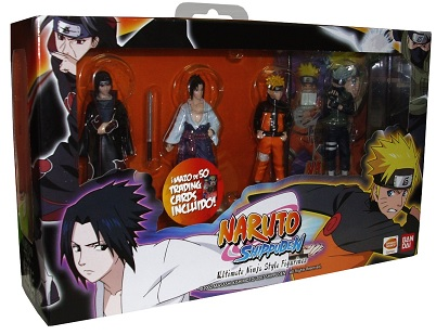 Naruto Ultimate Figurines + Card Pack