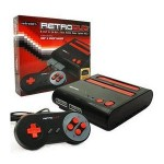 Consola Retro Duo Snes-Nes, Color Rojo/Negro + 2 Mandos