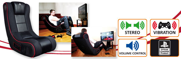 Silla interactiva para gaming for Sillas para playstation 4
