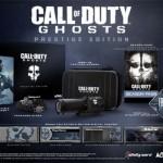 Call Of Duty: Ghosts + Prestige y Hardened Edition
