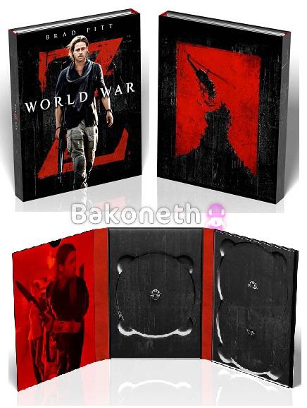 Guerra Mundial Z - Ed. Digibook exclusiva Amazon, limitada en unidades (DVD + BD + DVD Extras + Folleto) [Blu-ray]