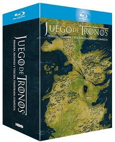 Juego De Tronos - Temporadas 1+2+3 [Blu-ray]