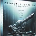Pack Evolution: From Prometheus To Alien [Blu-ray] Edición Española