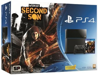 PlayStation 4 Consola + Infamous Second Son