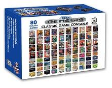 Sega Genesis - Consola Retro Mega Wireless (80 Juegos Incluidos)