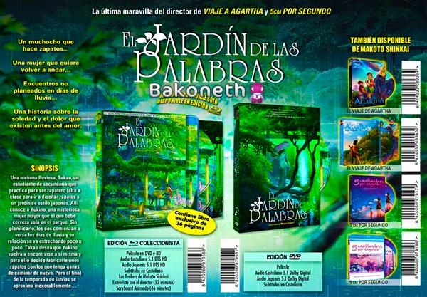 El Jardín De Las Palabras - Edición Coleccionista