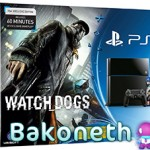 PlayStation 4 Consola 500 GB + Watch Dogs