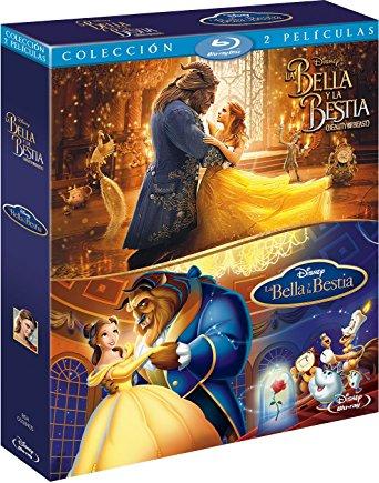 Pack La Bella y La Bestia Imagen Real y Animación